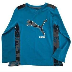 Puma Boys Long Sleeve Shirt In Sz: 7